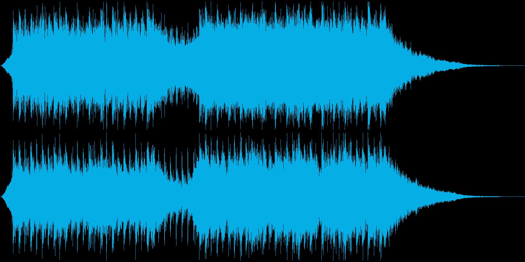 企業VP・映像・ポジティブ爽やかポップ5の再生済みの波形