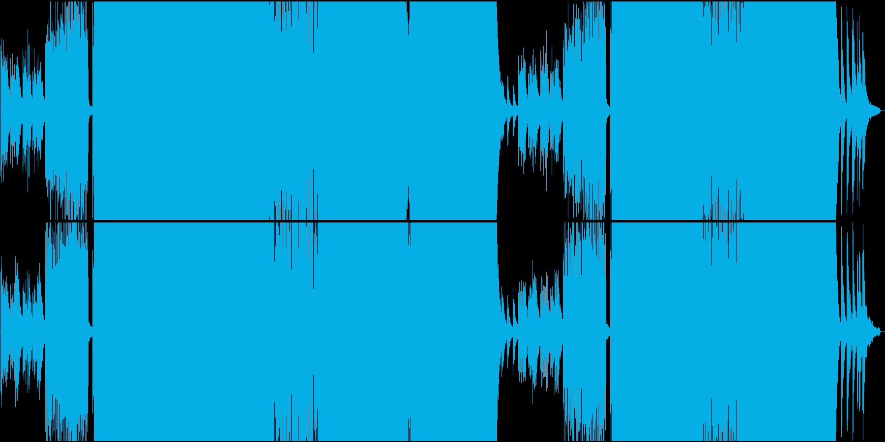 爽やかで明るいEDMの再生済みの波形