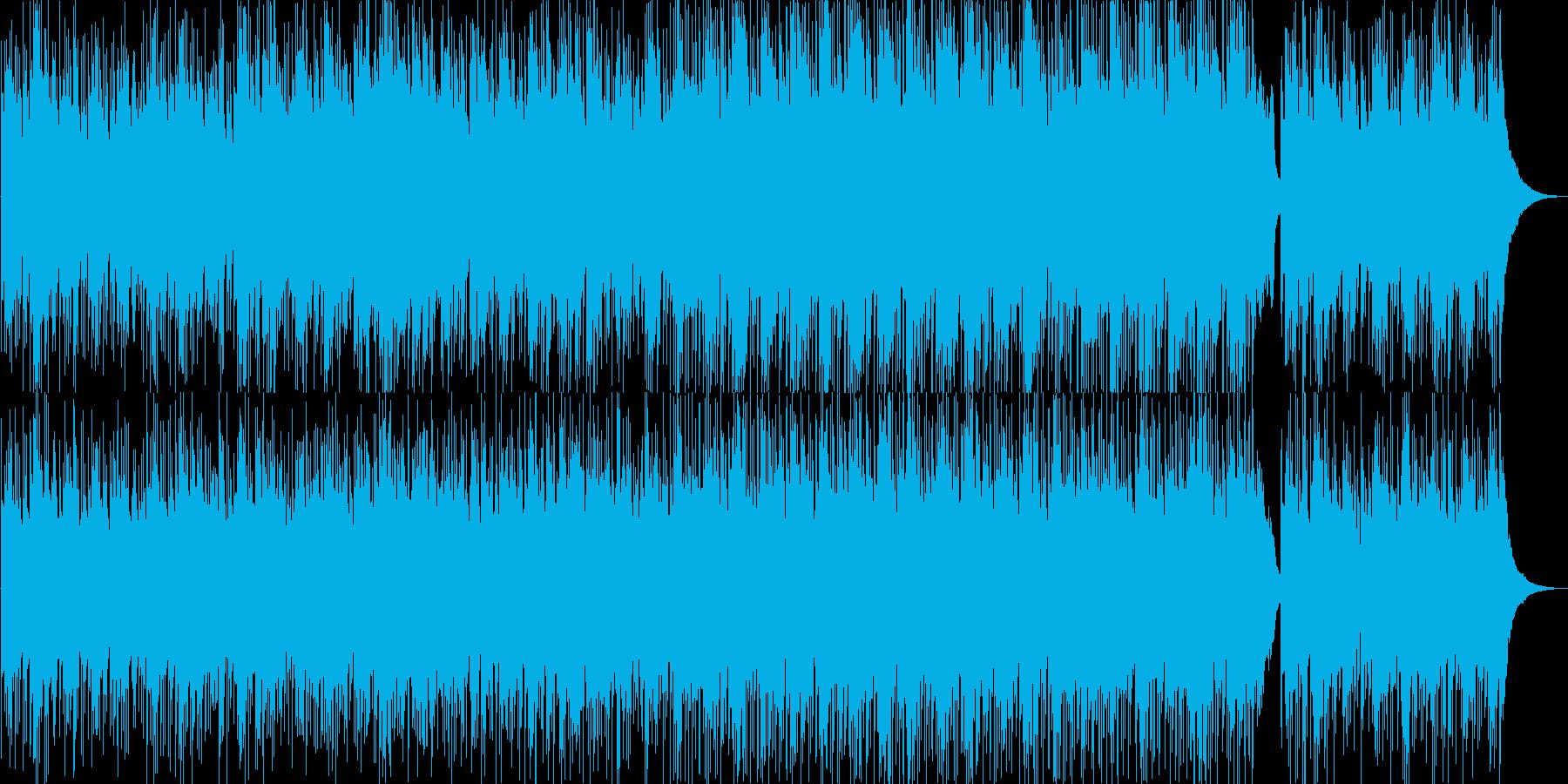 ほのぼの・感動的・映像・イベント用の再生済みの波形