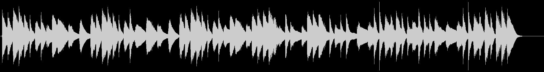 ネットCM 30秒 マリンバ 日常の未再生の波形