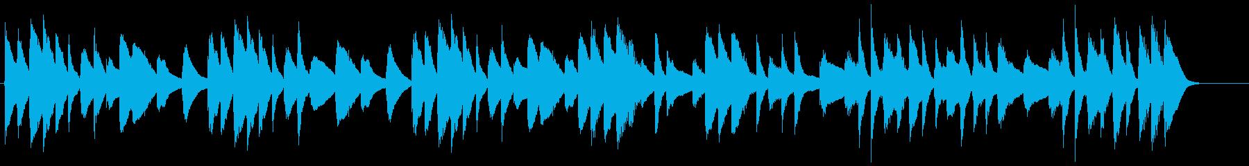 ネットCM 30秒 マリンバ 日常の再生済みの波形