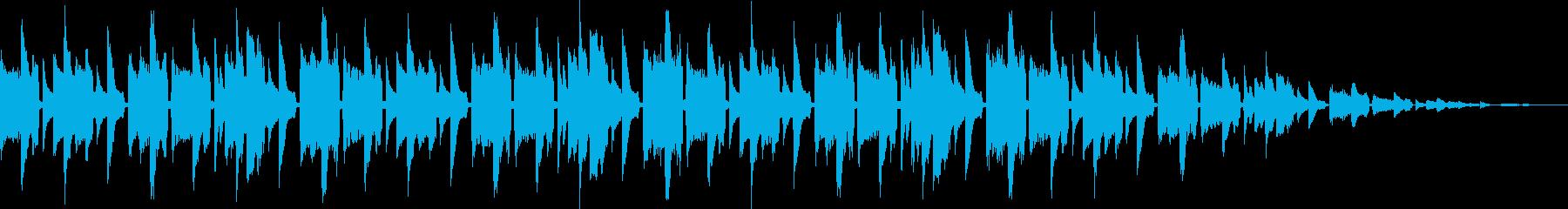 レトロゲーム風BGM(ゲームオーバー)の再生済みの波形
