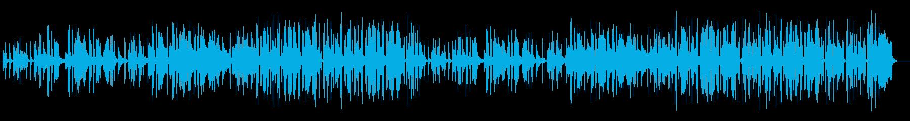 ほのぼのしたのどかなサウンドの再生済みの波形