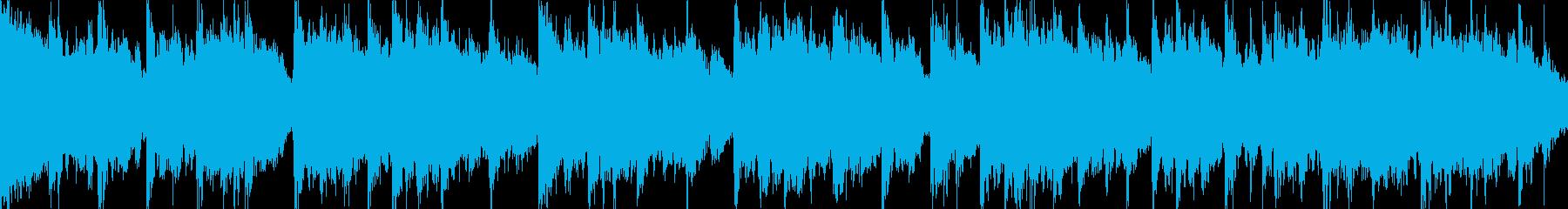 桜をイメージした切ない曲・ループ再生用2の再生済みの波形