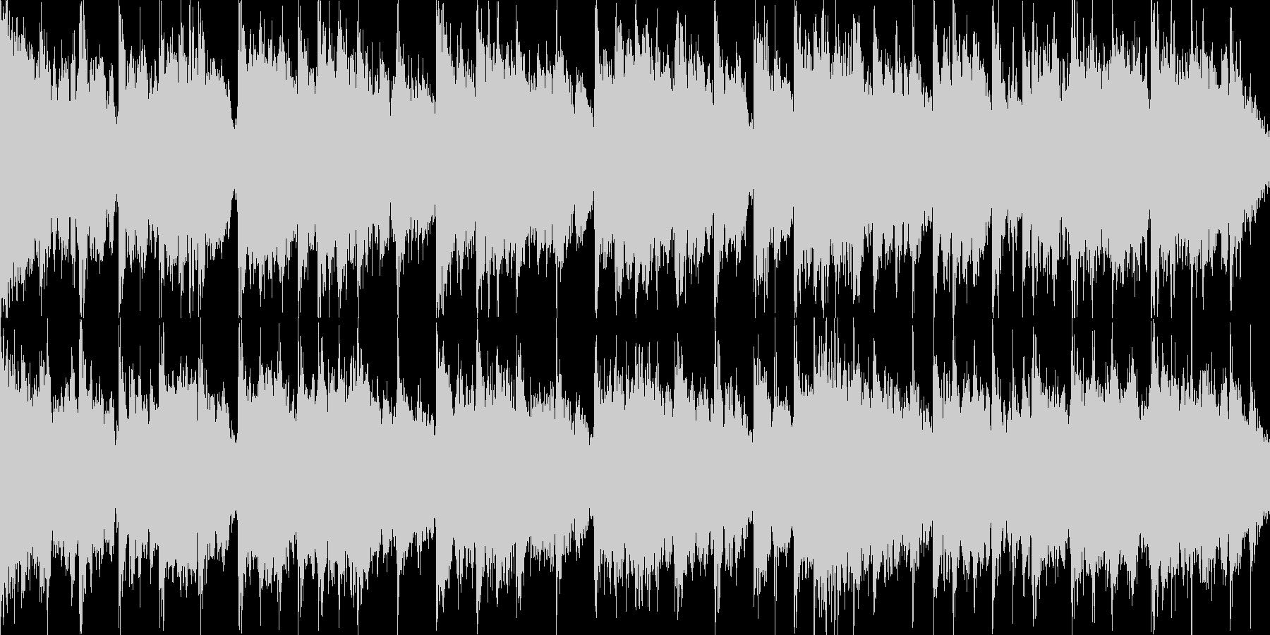 桜をイメージした切ない曲・ループ再生用2の未再生の波形