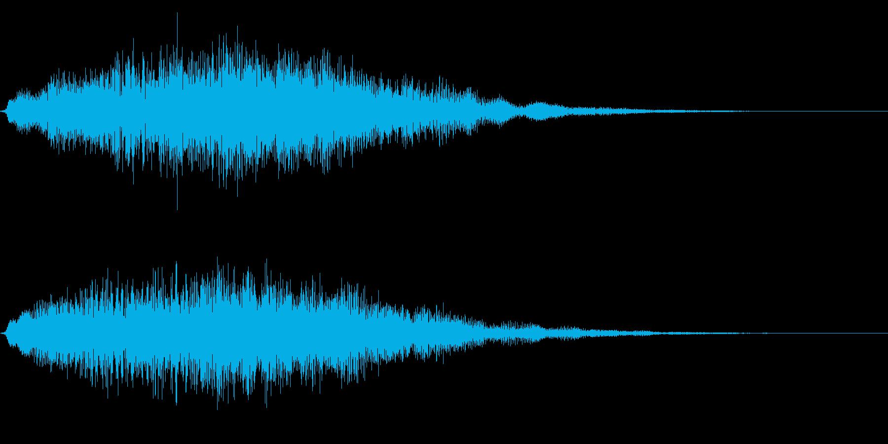 ゴージャスな決定音6の再生済みの波形