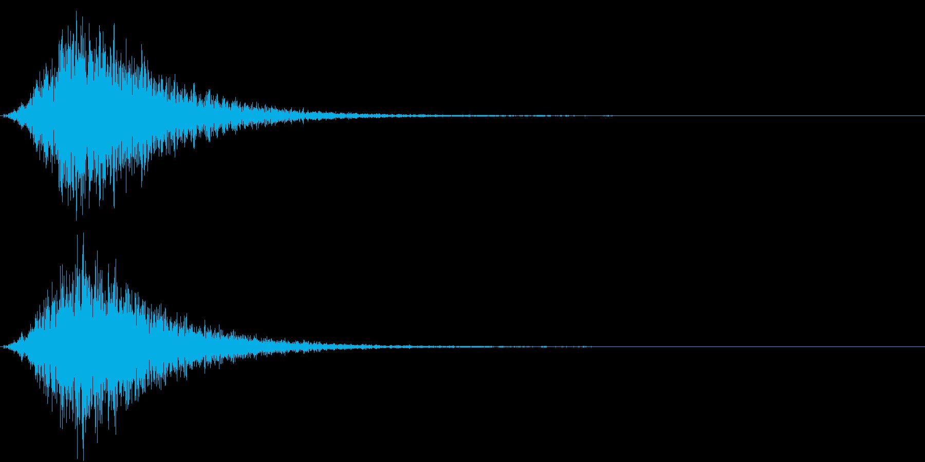 Battle 戦闘エフェクト音 1の再生済みの波形