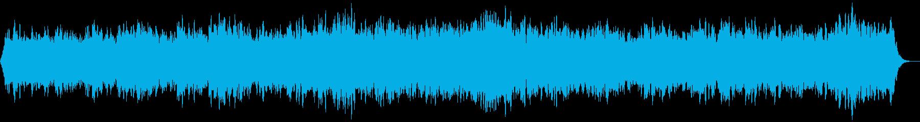 清らかなアカペラ合唱風ヒーリングBGMの再生済みの波形