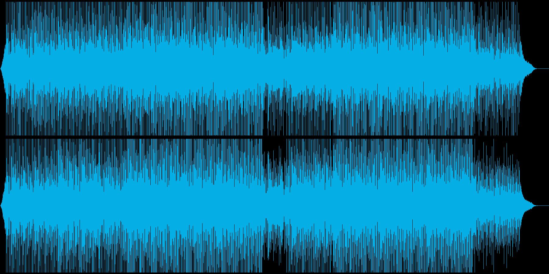 企業VPや映像に ピアノで爽やか透明の再生済みの波形