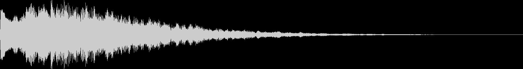 ボタン・決定音・サウンドロゴの未再生の波形