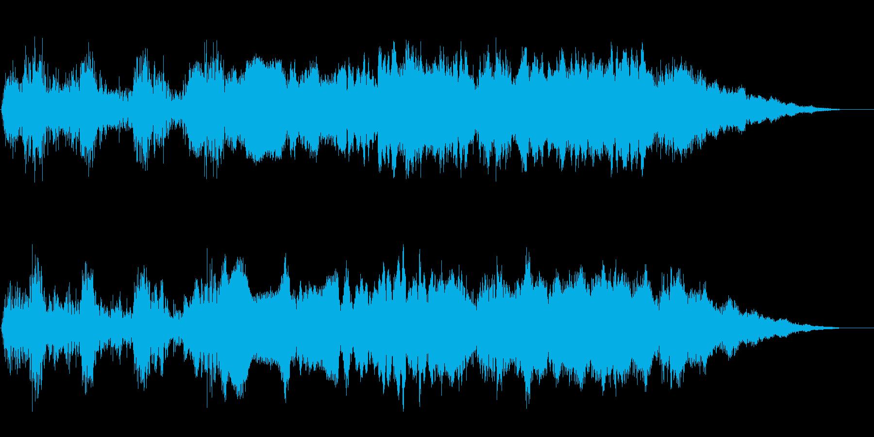 バイク オートバイの迫力あるエンジン音2の再生済みの波形