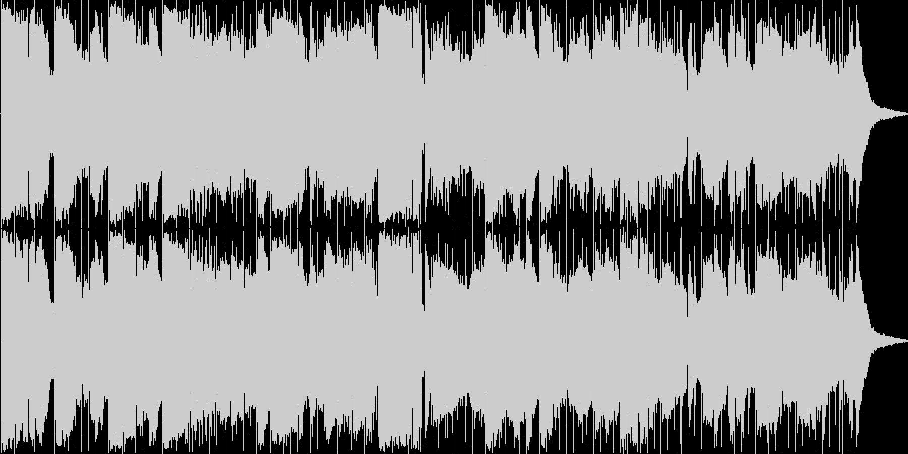 レトロRPGのオープニングをイメージし…の未再生の波形
