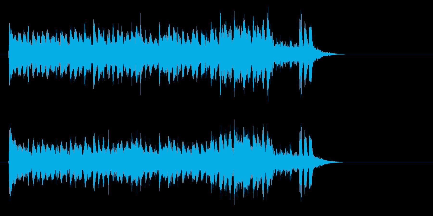 熱血青春サウンド・ニュー・ミュージック風の再生済みの波形