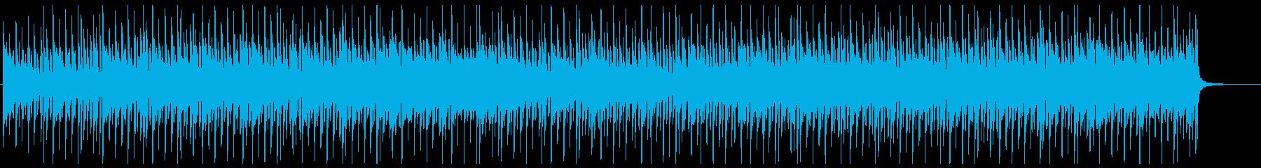 少し昔の恋愛ゲーム風日常BGMの再生済みの波形