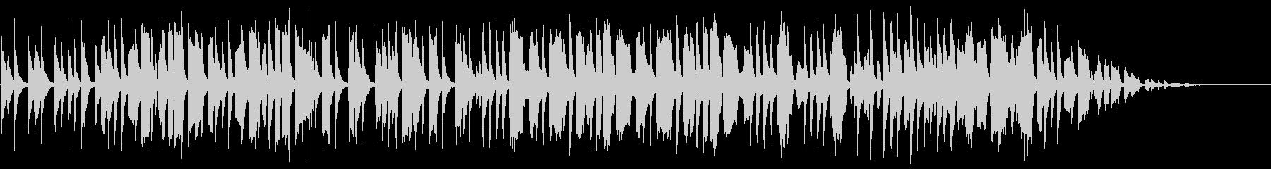 弦楽器と管楽器のほのぼのとしたBGMの未再生の波形