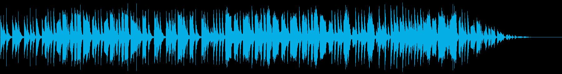 弦楽器と管楽器のほのぼのとしたBGMの再生済みの波形