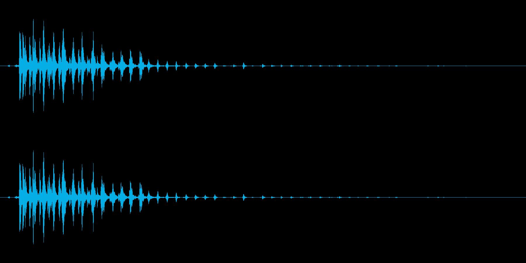 ぎーの再生済みの波形