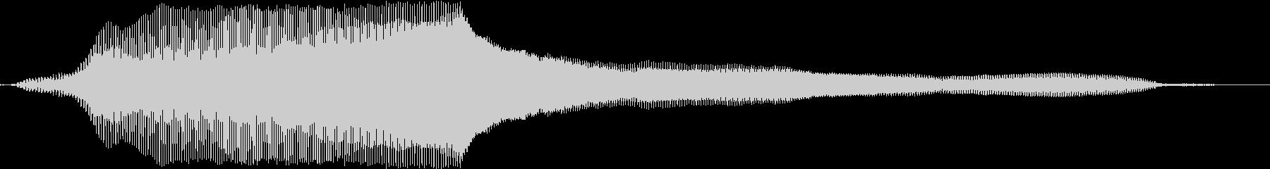 猫の鳴き声(癖のない声)の未再生の波形