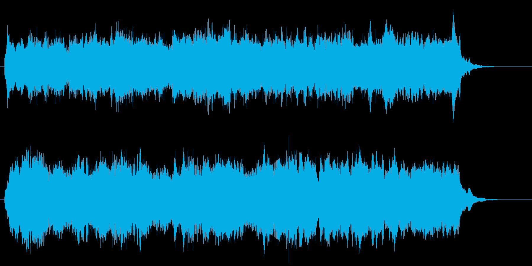 RPGオープニングをイメージしました。の再生済みの波形
