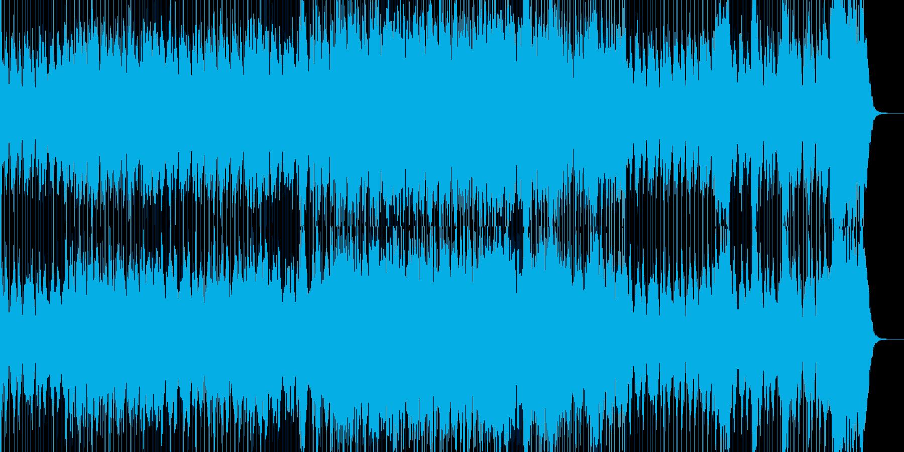 戦いの太鼓 ティンパニと不協和音の再生済みの波形
