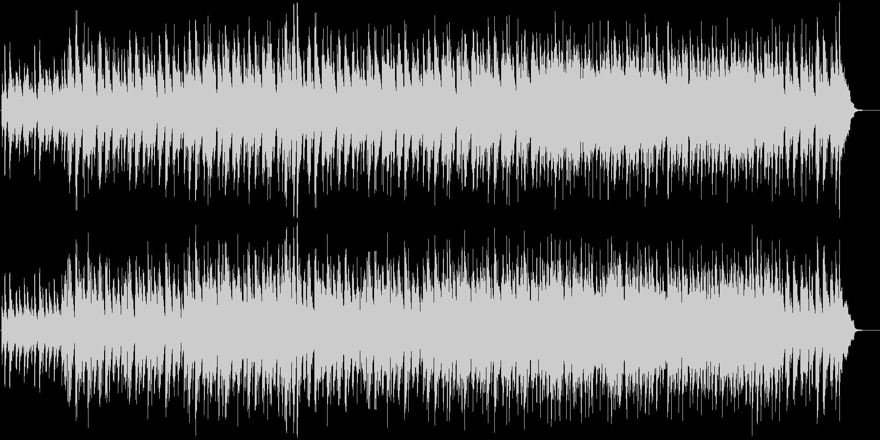 軽快なジャズトリオのオリジナル曲の未再生の波形