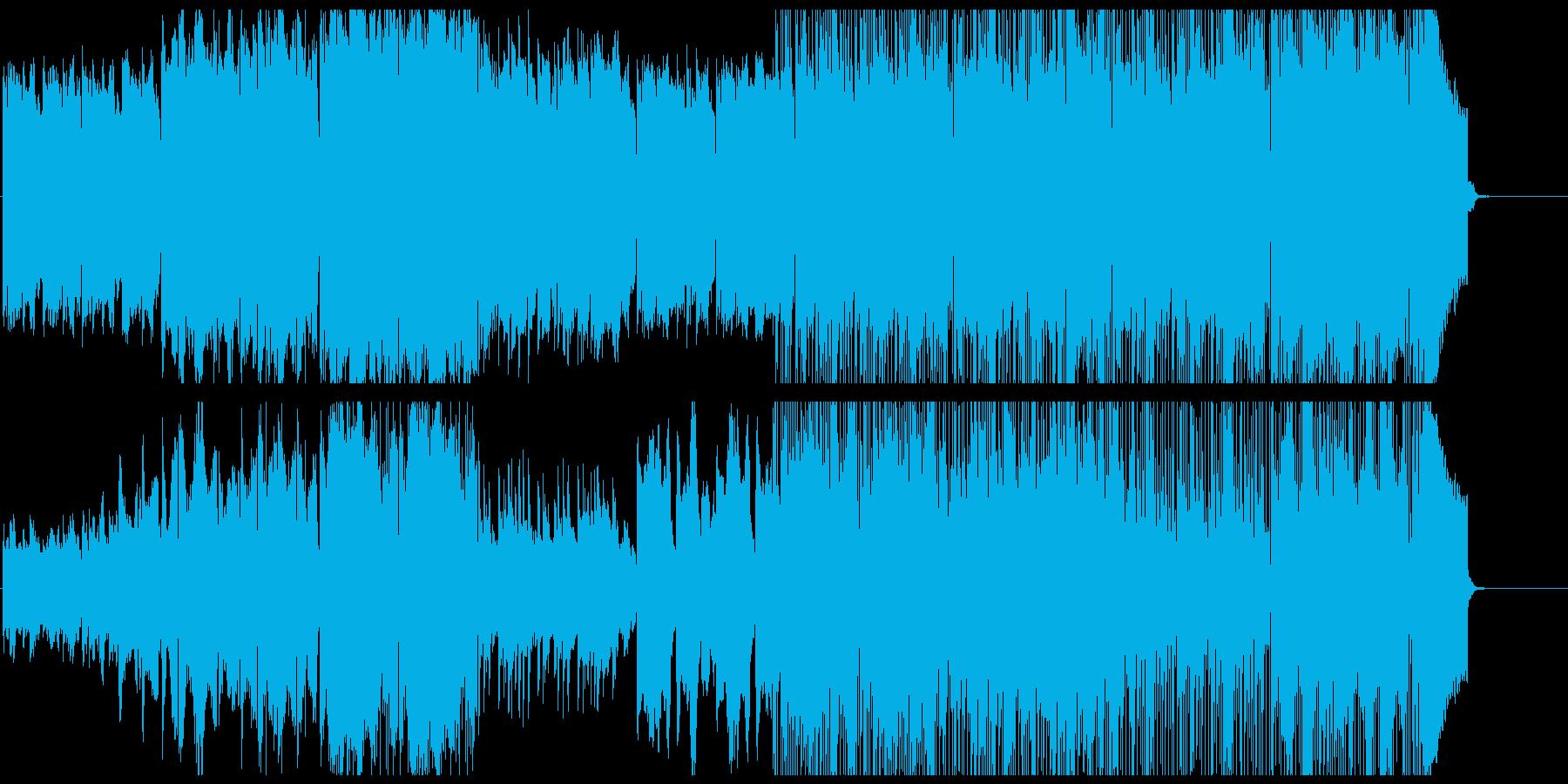 爽やかなフィドルのイージーリスニングの再生済みの波形