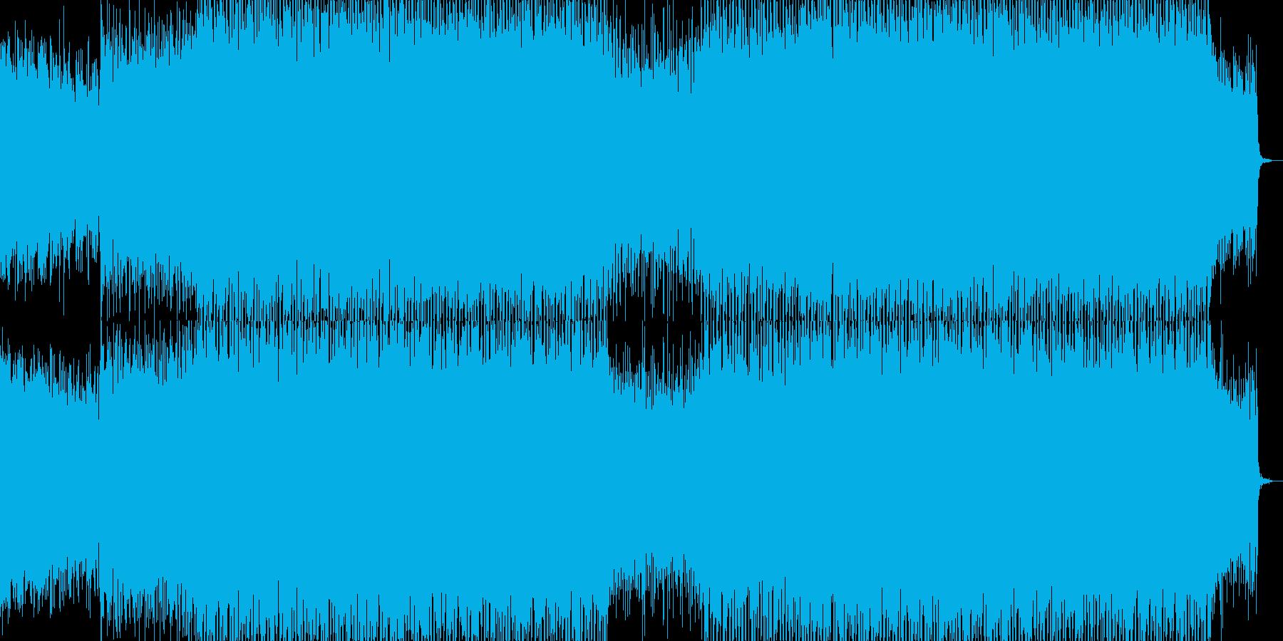 EDMポップで明るいクラブ系-71の再生済みの波形