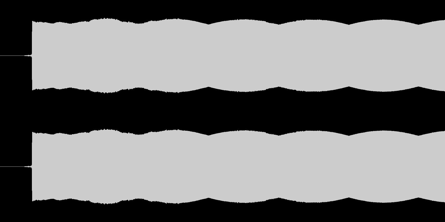 放送禁止用語や試験放送で使われるピー音…の未再生の波形