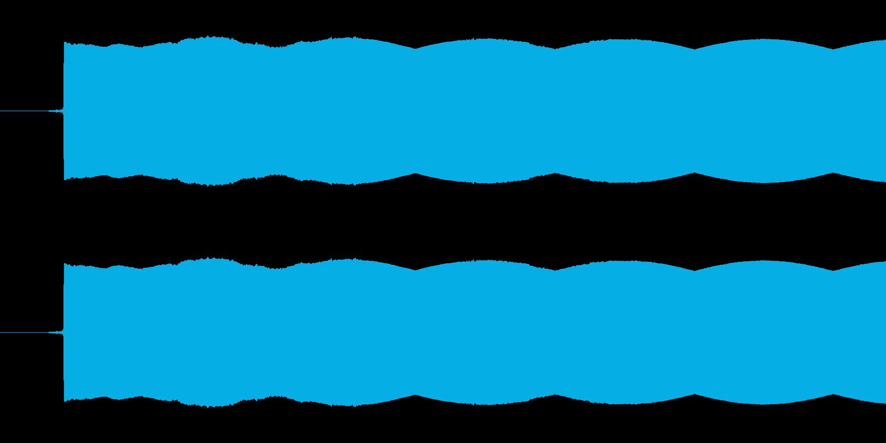 放送禁止用語や試験放送で使われるピー音…の再生済みの波形