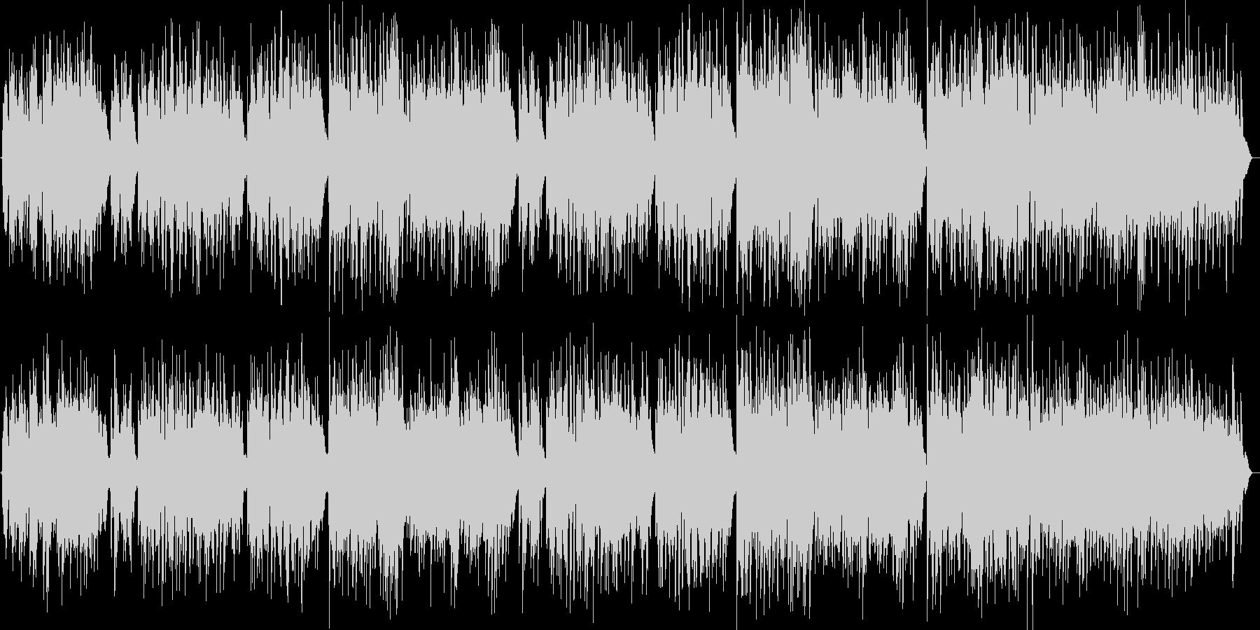 壮大でクラシカルなピアノ旋律バラードの未再生の波形