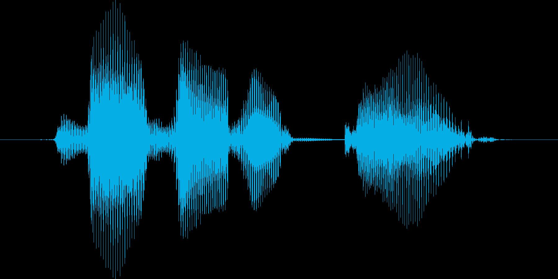 レベル10(てん)の再生済みの波形
