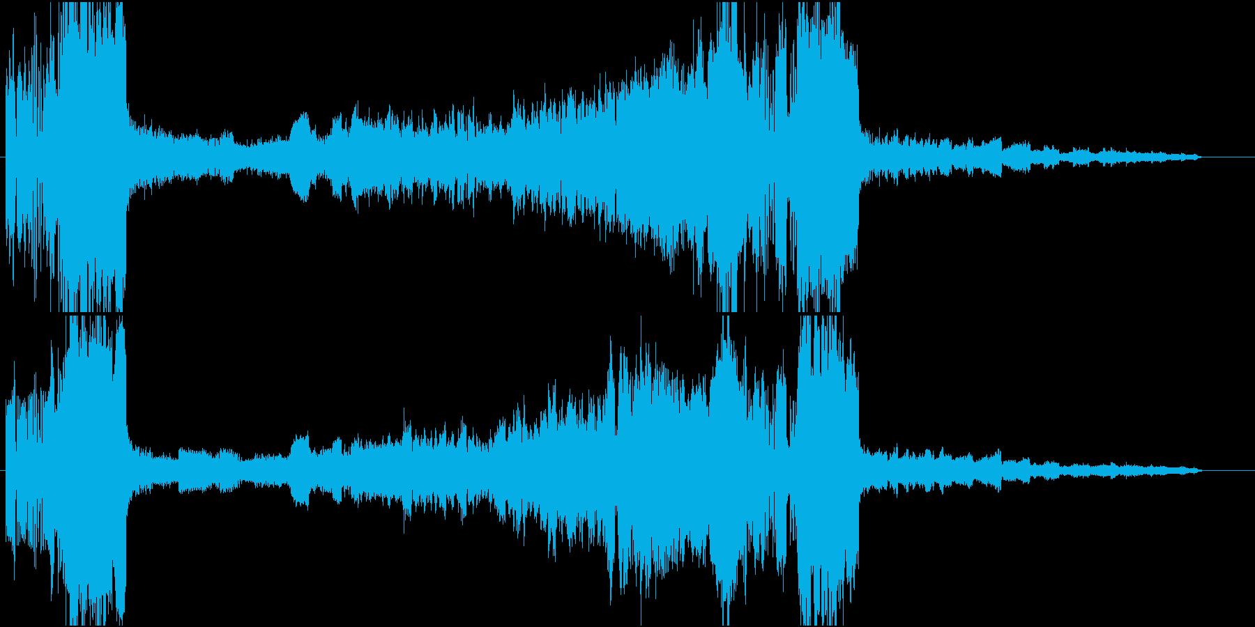 金管のファンファーレで始まる曲ですの再生済みの波形