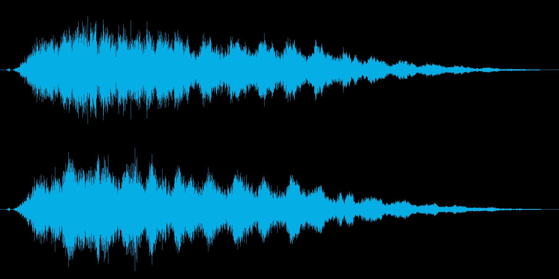 キラーン!魔法、星、流星、光などに最適4の再生済みの波形