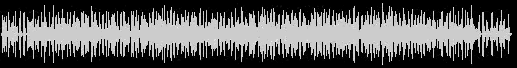 軽快でかわいらしいポップミュージックの未再生の波形