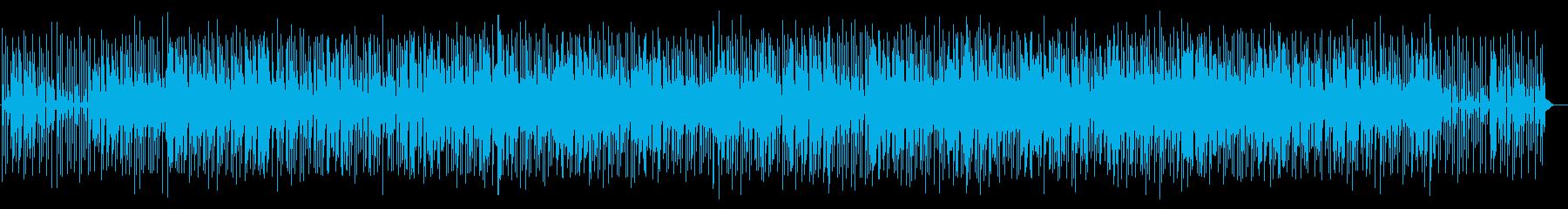 軽快でかわいらしいポップミュージックの再生済みの波形