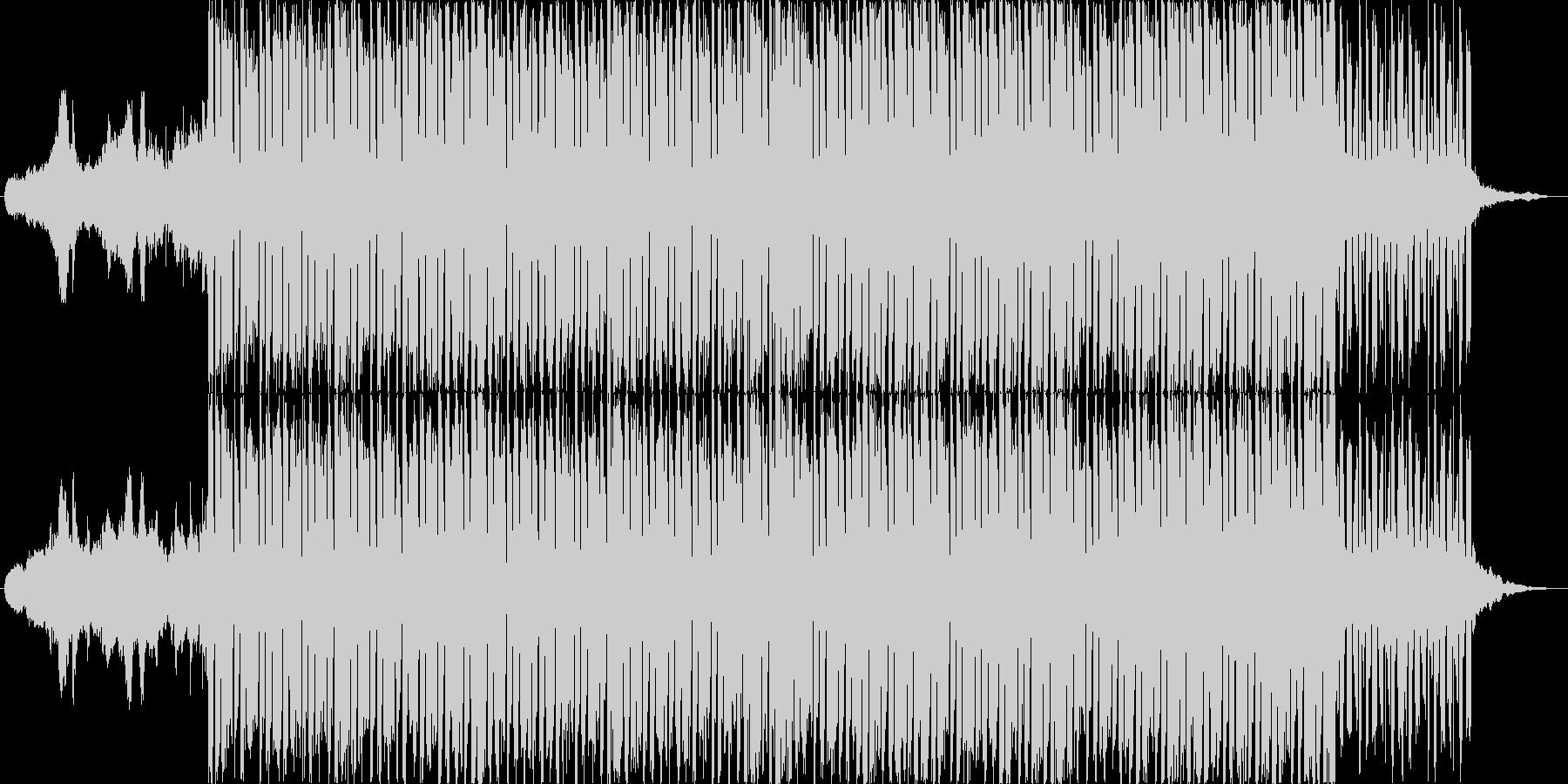 映像系に合う壮大なシンセメインHOUSEの未再生の波形