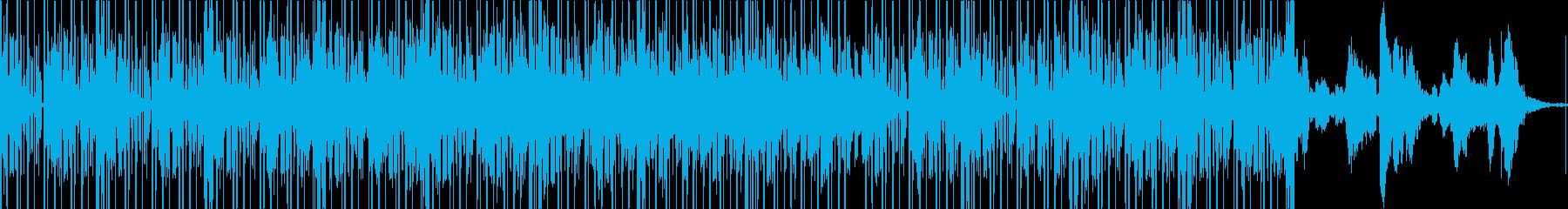 穏やかなエレクトロニカ。の再生済みの波形