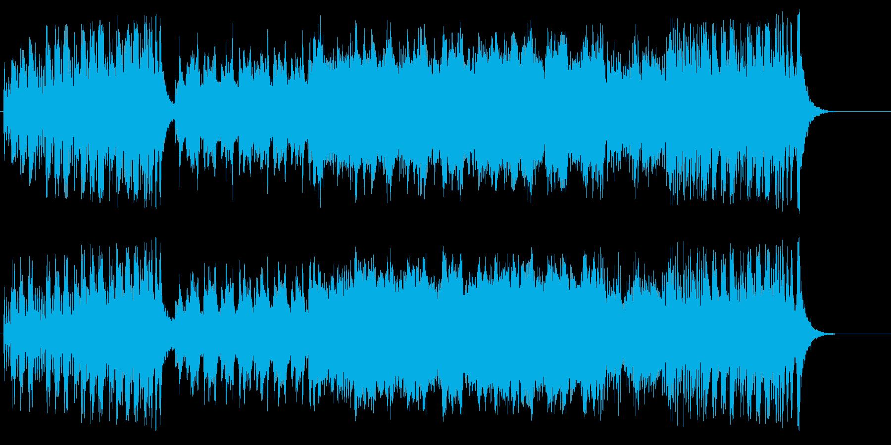 ドラマチック、シネマモノローグタイトルの再生済みの波形