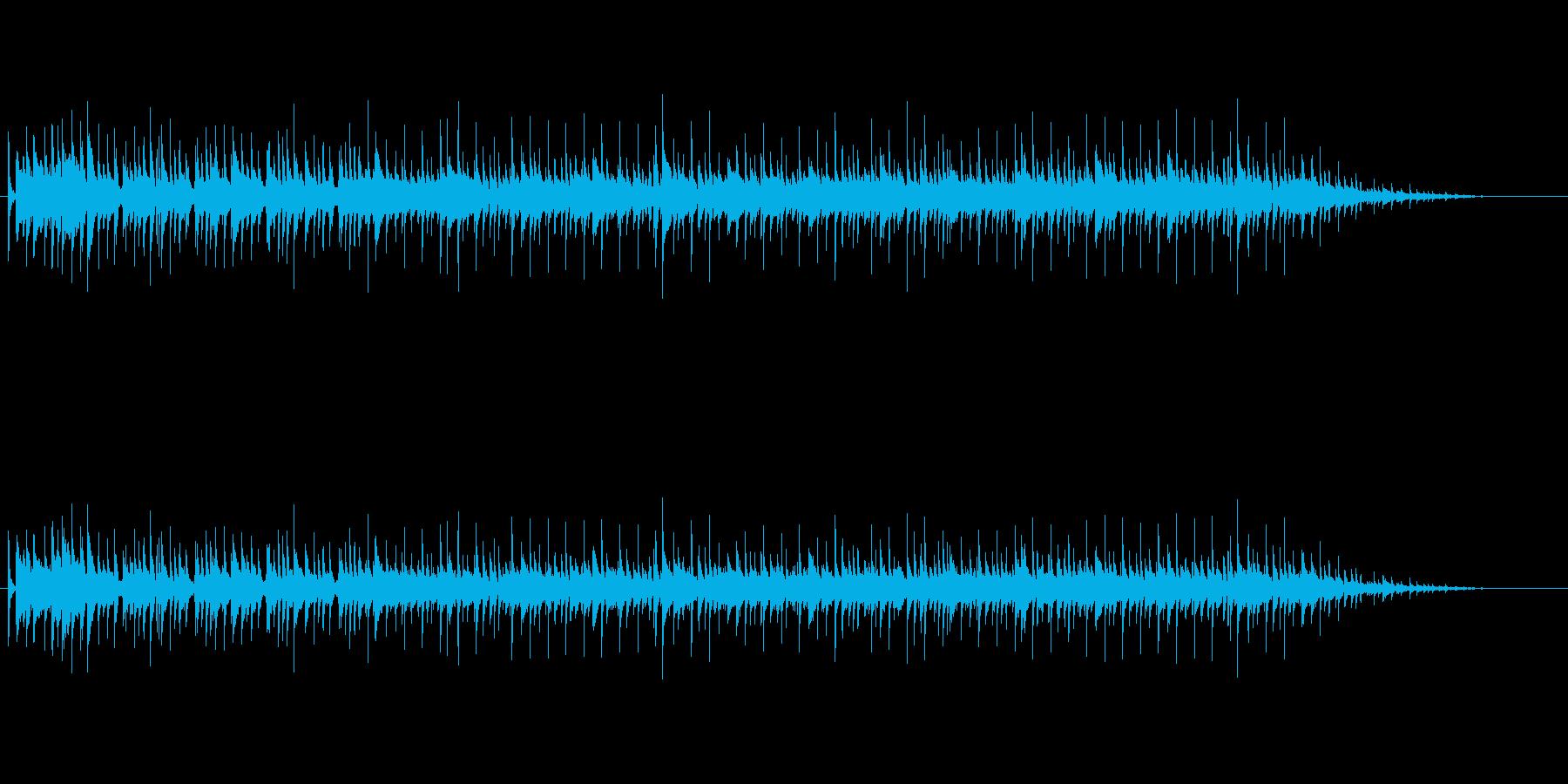 おしゃれな大人なムードミュージックの再生済みの波形
