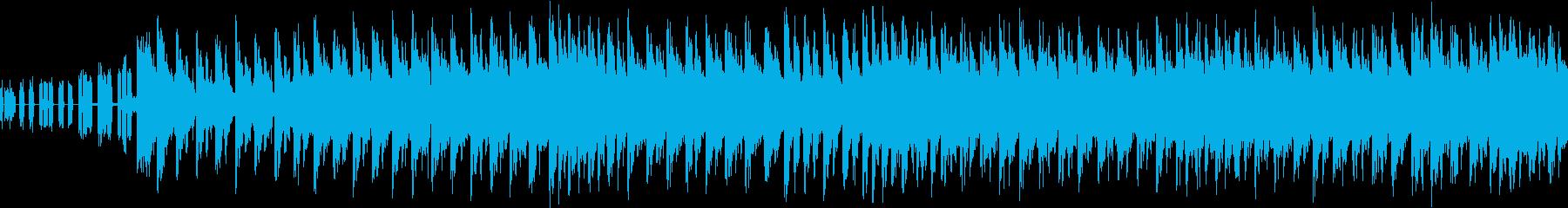 ポップなシンセサイザーのバトル曲 RPGの再生済みの波形
