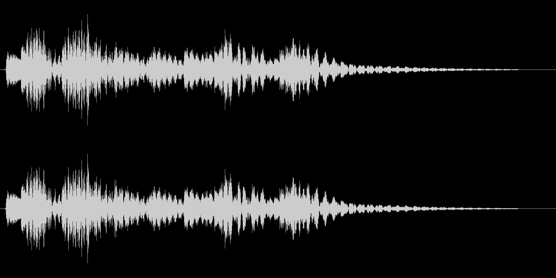 コロンクラン(コミカル)の未再生の波形