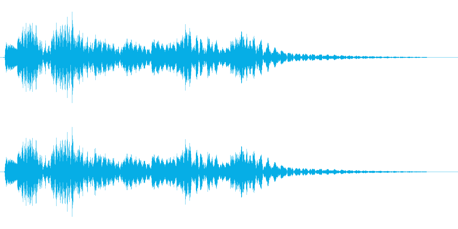 コロンクラン(コミカル)の再生済みの波形