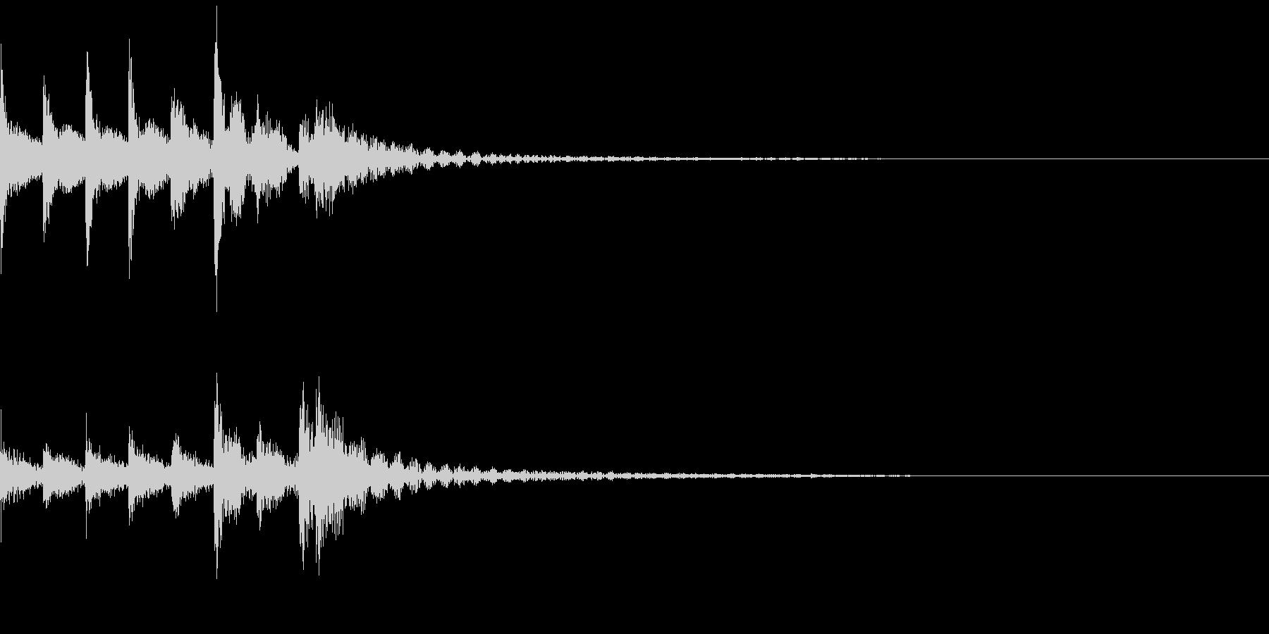 タム回し/ミッド/ドラムフィル/3の未再生の波形
