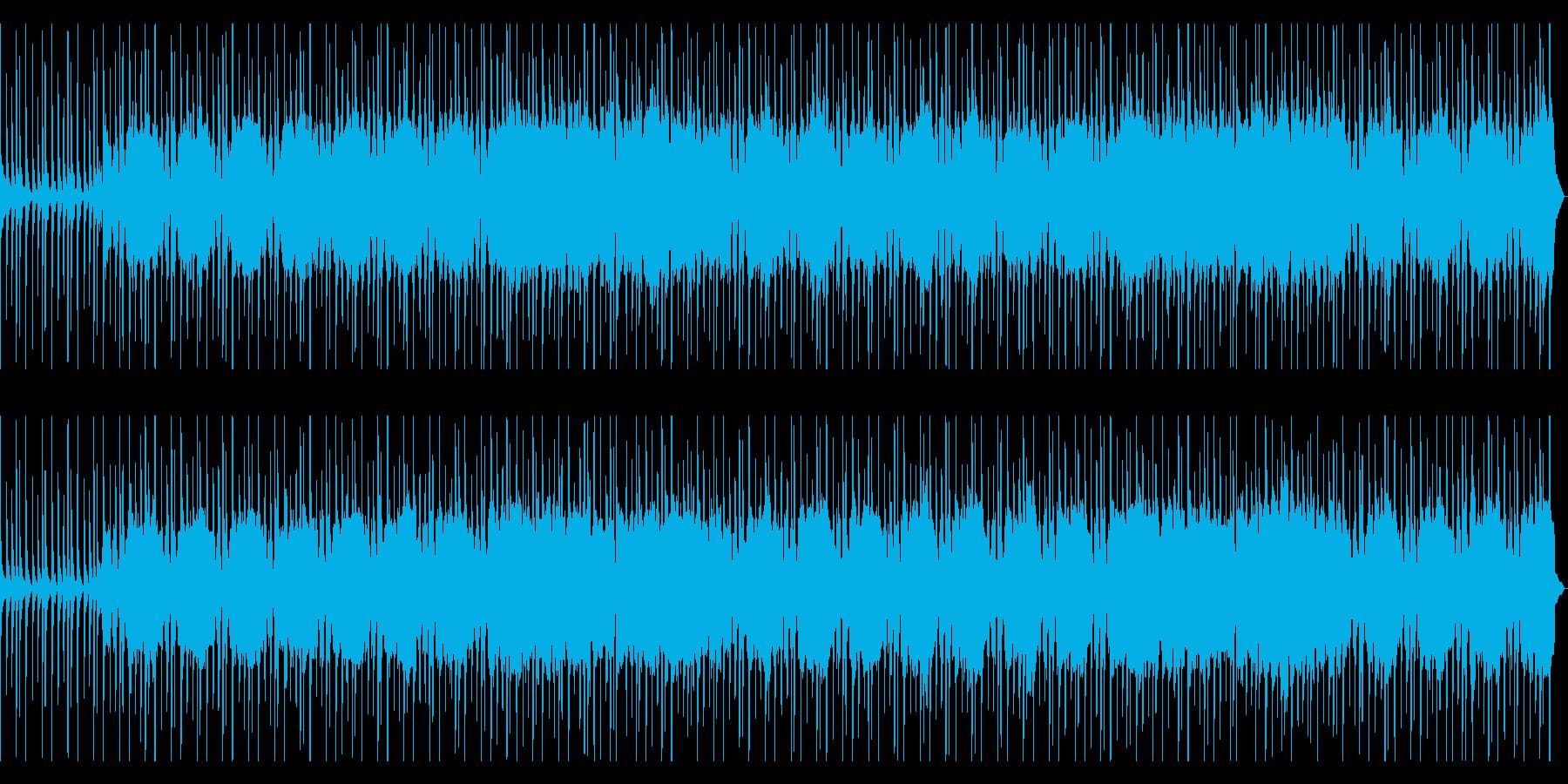 疾走感ある爽やかなギターロック/シンセ有の再生済みの波形
