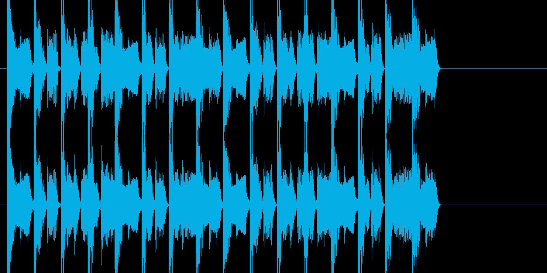 ダンサブルなEDMのジングルです。の再生済みの波形