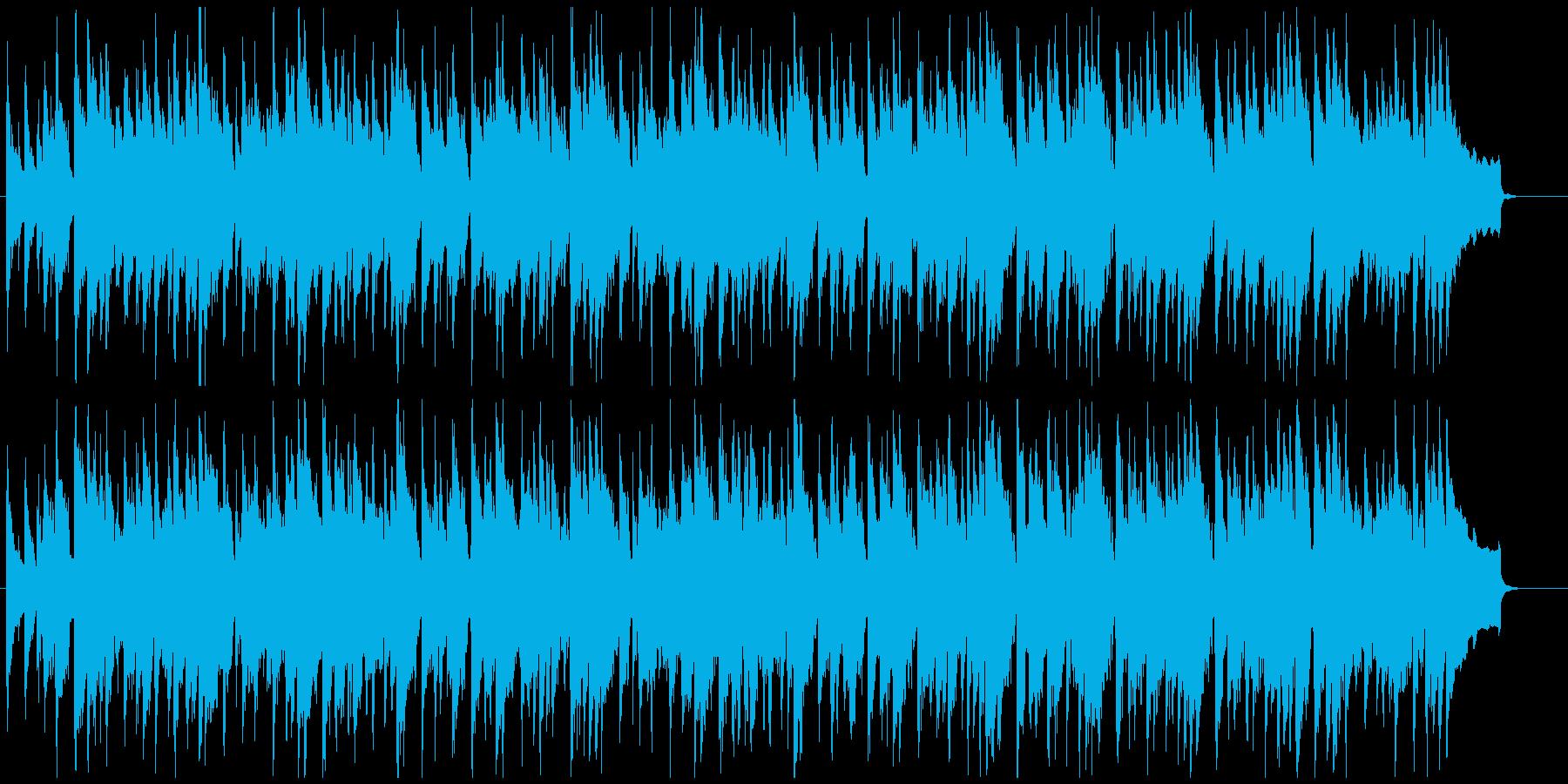 落ち着いたアコースティックカントリーの再生済みの波形