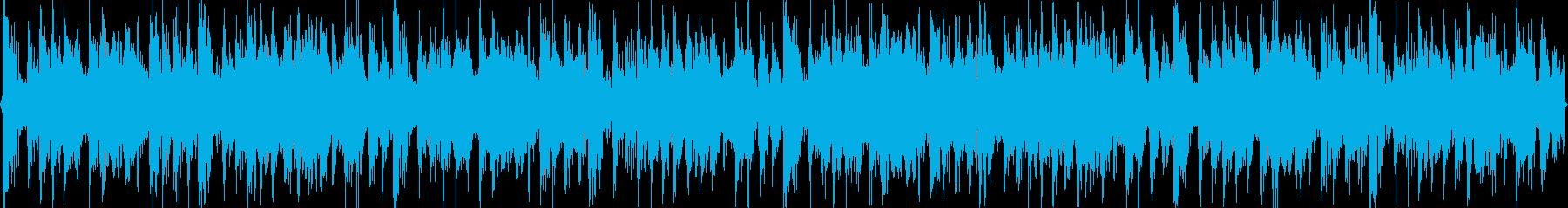 ダンストランス イベントBGMの再生済みの波形