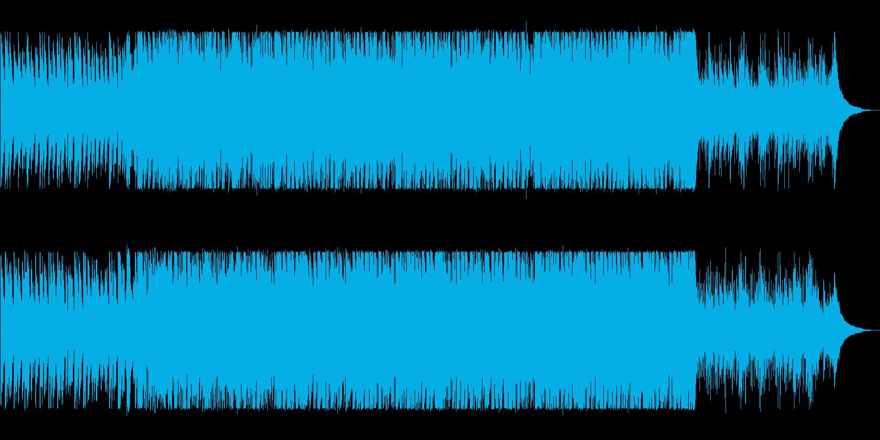 明るく軽快なピアノポップスの再生済みの波形