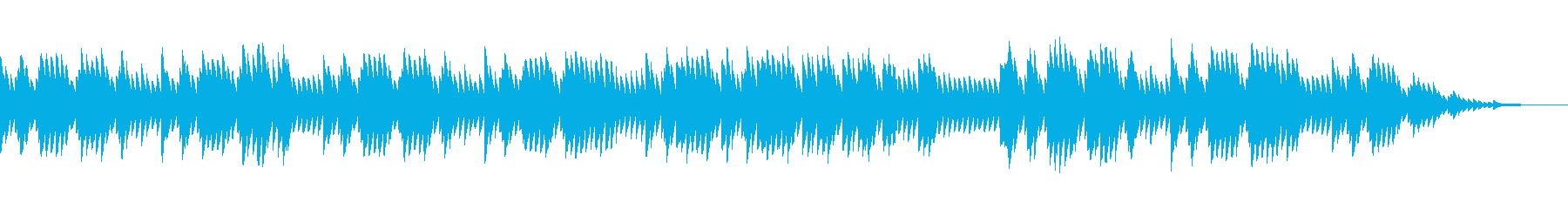 8bitクラシック-パヴァーヌ-の再生済みの波形