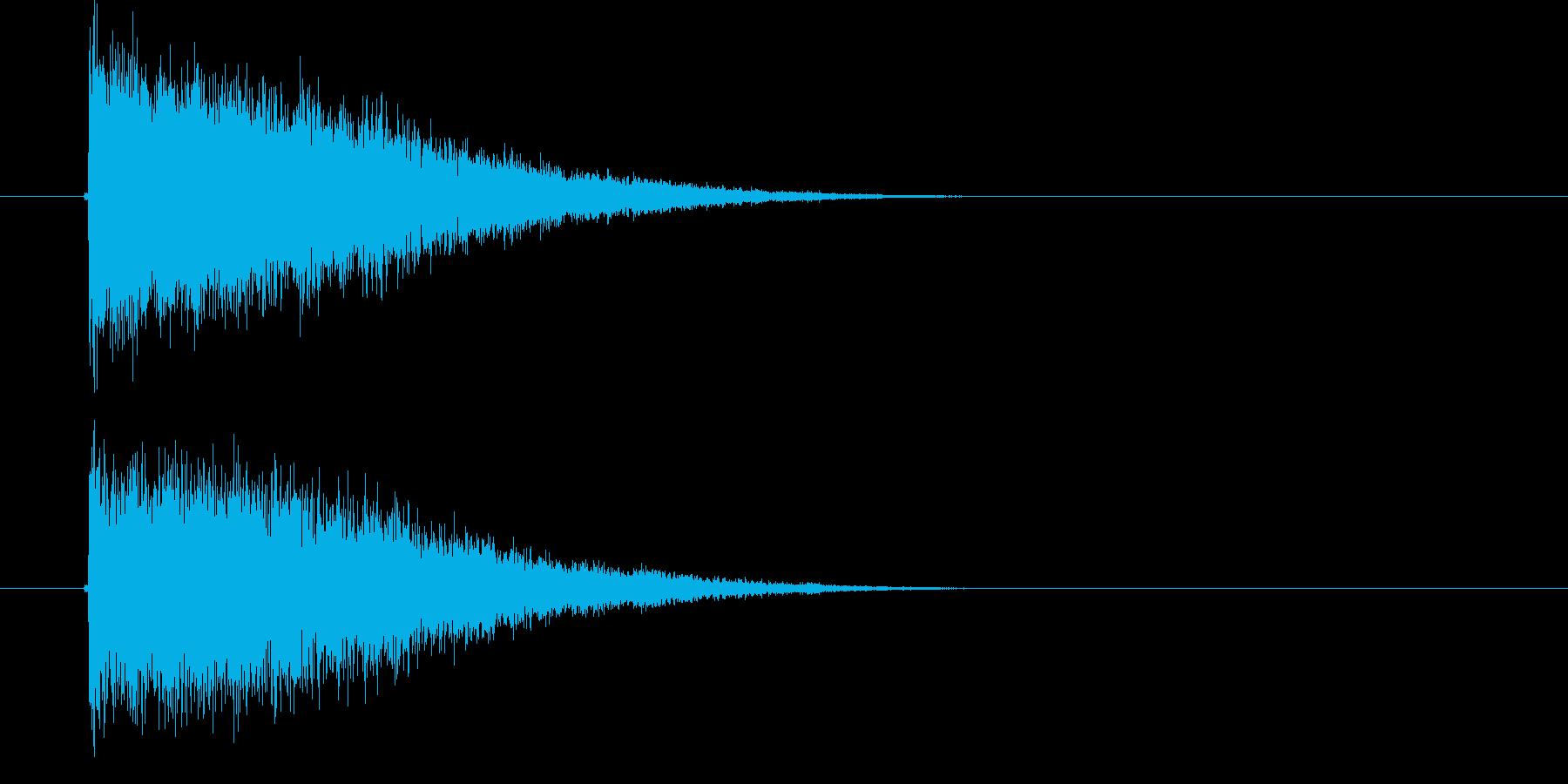 ジャンジャン・・・(奇怪、サスペンス)の再生済みの波形